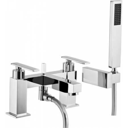 Marino Deck Mounted Bath Shower Mixer with Shower Handset