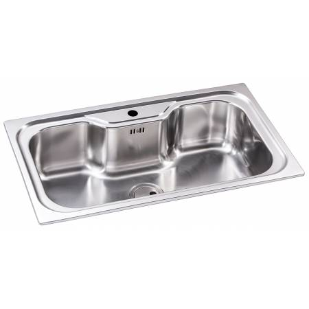 Matrix R50 XL Single Bowl Sink in Stainless Steel