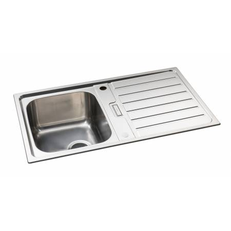 Neron Single Bowl Compact Sink in Stainless Steel