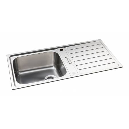 Neron Single Bowl Sink in Stainless Steel