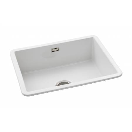 Sandon Large Single Bowl in White Ceramic