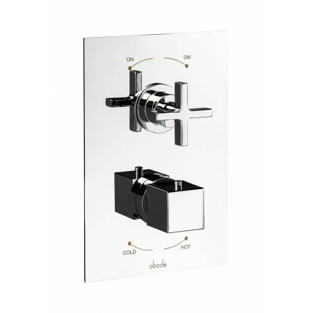 Serenitie Concealed Thermostatic Shower Valve (2 Exit) in Chrome