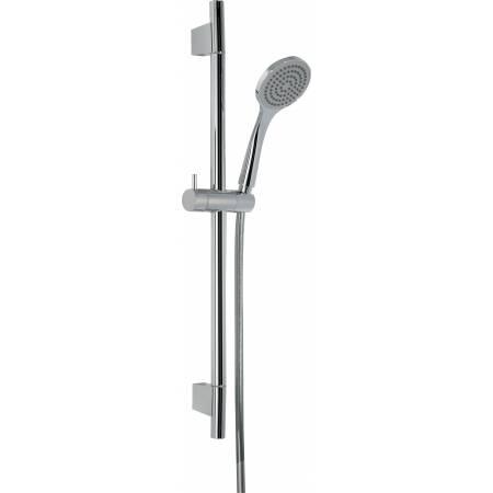 Sliding Rail Shower Kit 5  in Chrome