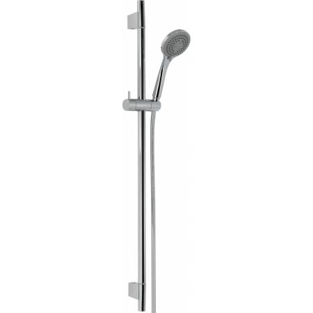 Sliding Rail Shower Kit 6  in Chrome
