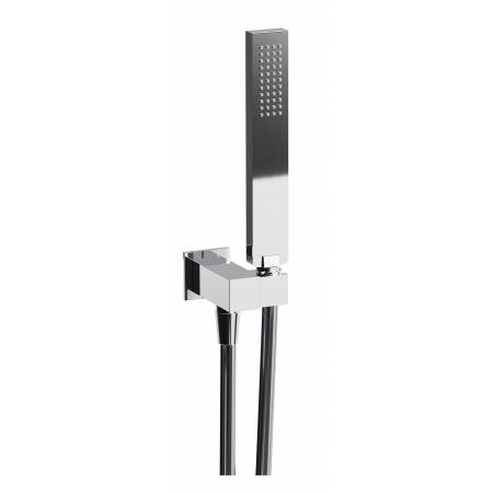 View Alternative product Square Combined Wall Outlet, Handshower & Bracket in Chrome