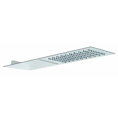 View Alternative product Storm Slimline 3mm Wall Mounted Waterfall Showerhead 500mm x 250mm in Polished Stainless Steel
