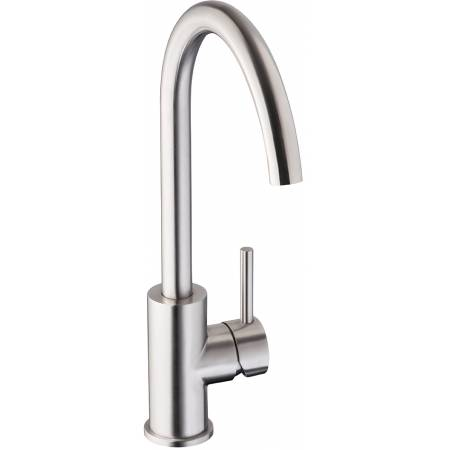 Zorb Single Lever in Stainless Steel