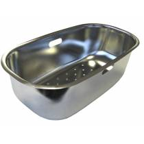 Arka Colander in Stainless Steel