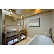 Fervour Floor Standing Bath Filler with Shower Handset in Chrome