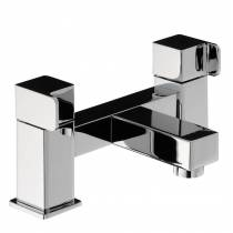 Rapport Deck Mounted Bath Filler in Chrome