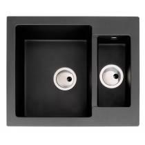 Zero 1.5 Bowl in Black Metallic Granite