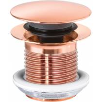 Basin Clicker Waste - Unslotted in Rose Gold