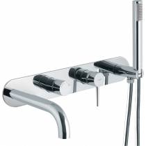 Chao Wall Mounted Bath Shower Mixer with Shower Handset
