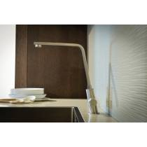 Linear Flair Monobloc in Brushed Nickel