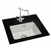Matrix GR10 Single Bowl in Black Metallic Granite