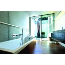 Modo Wall Mounted Bath Shower Mixer with Shower Handset