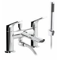 Squire Deck Mounted Shower Mixer in Chrome