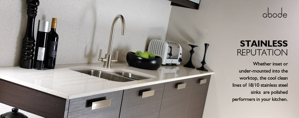 stainless reputation kitchen sinks from abode  rh   abodedesigns co uk