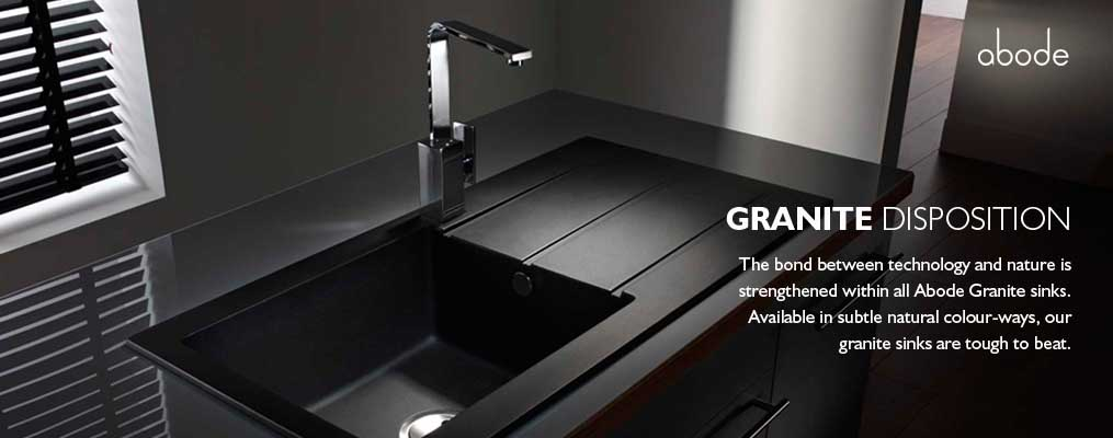 granite disposition kitchen sinks from abode  rh   abodedesigns co uk